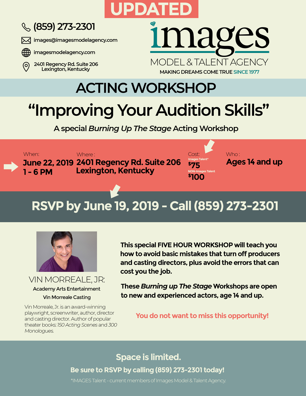 Acting Workshop Improving Your Audition Skills2