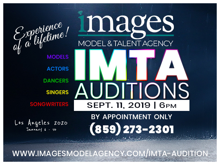 IMTA Auditions September 11, 2019 6PM at IMAGES